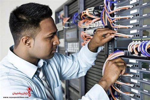 خدمات اجرایی شرکت رایان پشتیبان