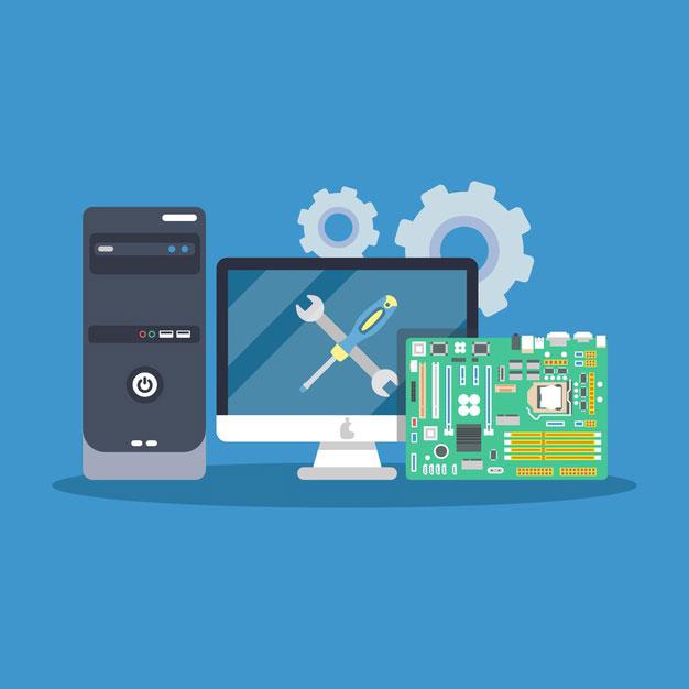 شبکه کردن کامپیوتر با سوئیچ ، آموزش تنظیمات سخت افزاری و نرم افزاری