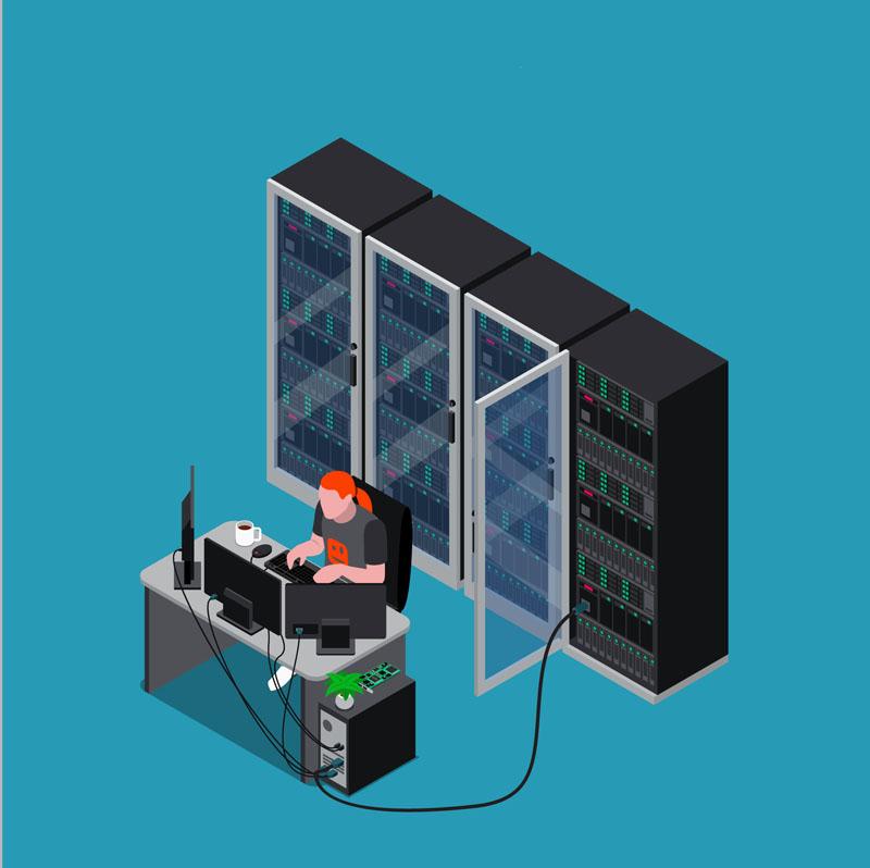 تعمیر تجهیزات شبکه