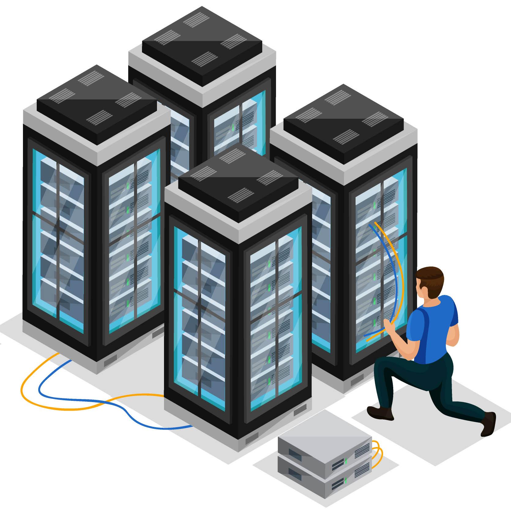 پشتیبانی از شبکه و سرور